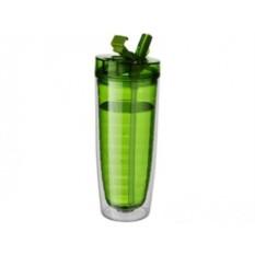 Зеленая прозрачная бутылка Sippe
