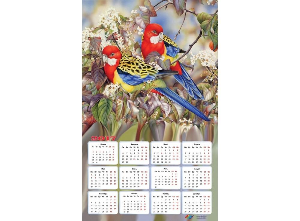 Набор для вышивки стразами «Райские птички»