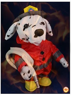 Долматинец пожарный