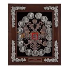Малая настенная ключница Медали