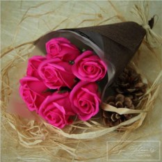 Спа-букет Sweet (цвет: фуксия)