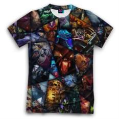 Мужская футболка 3D с полной запечаткой All pic