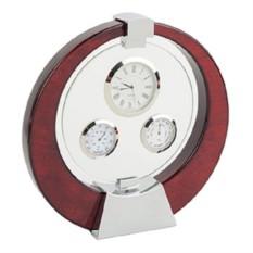 Погодная станция: часы, термометр, гигрометр