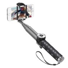 Селфи-монопод Deppa Selfie Pro Graphite с Bluetooth-кнопкой