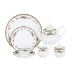 Фарфоровый чайный сервиз на 12 персон Изабелла