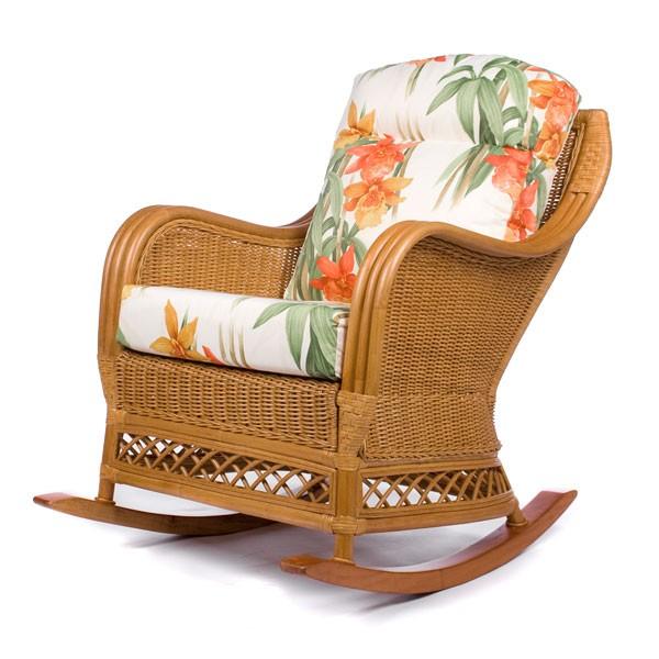 Кресло-качалка с подушкой Lindo