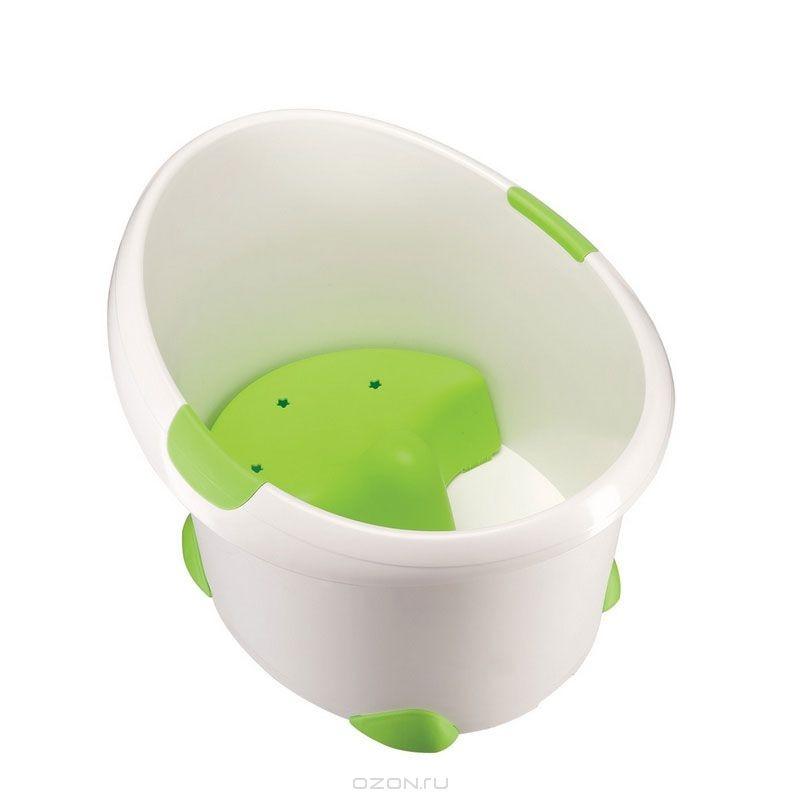 Детская ванна Happy Baby, цвет: светло-зеленый