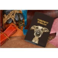 Обложка для ветеринарного паспорта Техосмотр пройден!