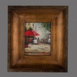 Картина «Будни», холст, масло.