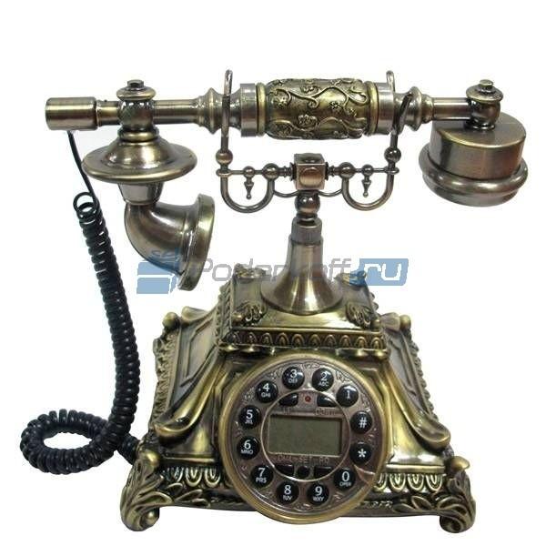 Кнопочный ретро-телефон Айвери