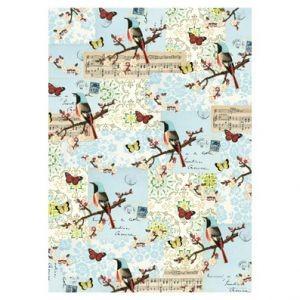 Оберточная бумага Flora&Fauna - Bird