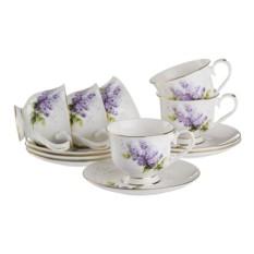 Чайный набор на 6 персон Porcelain Manufacturing