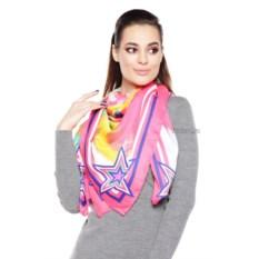 Розовый женский платок Mario Spado - DD-16DY1027019-2