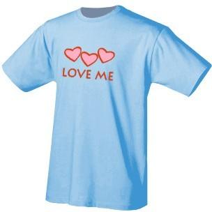 Футболка «Love me»