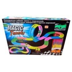 Гибкая гоночная трасса Magic Tracks (366 деталей)