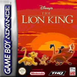 Игра для Game Boy Advance: Король Лев