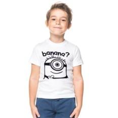 Детская футболка Миньон banana