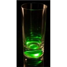Зеленый светящийся бокал для коктейлей GlasShine