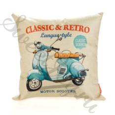 Диванная подушка Classic & Retro – Motor Scooter