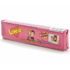 Жевательная конфета Love is.. (вкус - клубника)