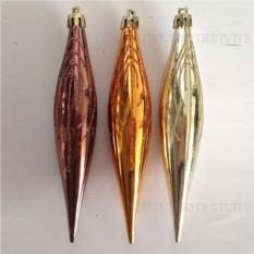 Набор из 6 новогодних украшений Сосулька, 16 см