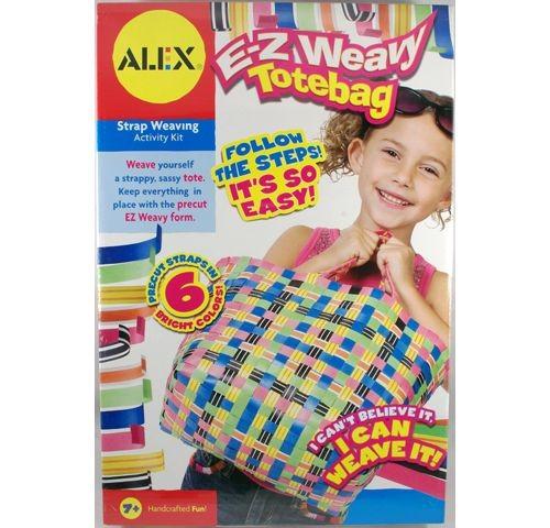 Набор для плетения сумки из разноцветных ремешков