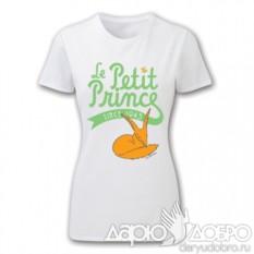 Женская футболка Маленький Принц Le petit prince
