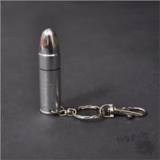 Флешка-пуля с гравировкой (серебряная) (8 ГБ)