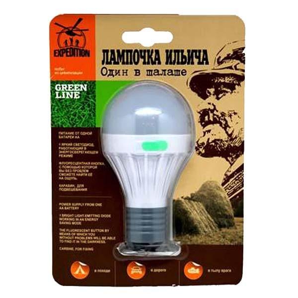 Походный фонарь Лампочка Ильича