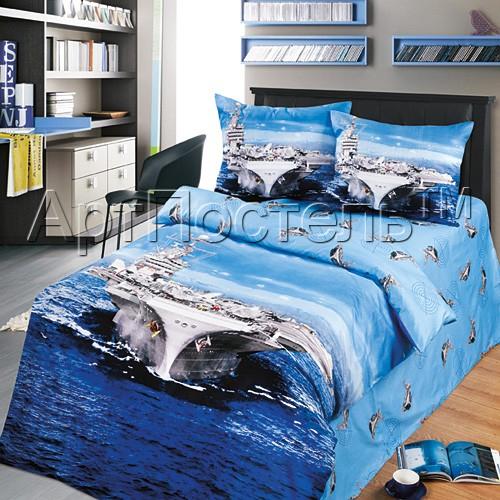 Комплект постельного белья Авианосец (1,5 спальный)