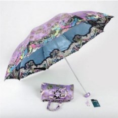 Мини зонт в сумочке