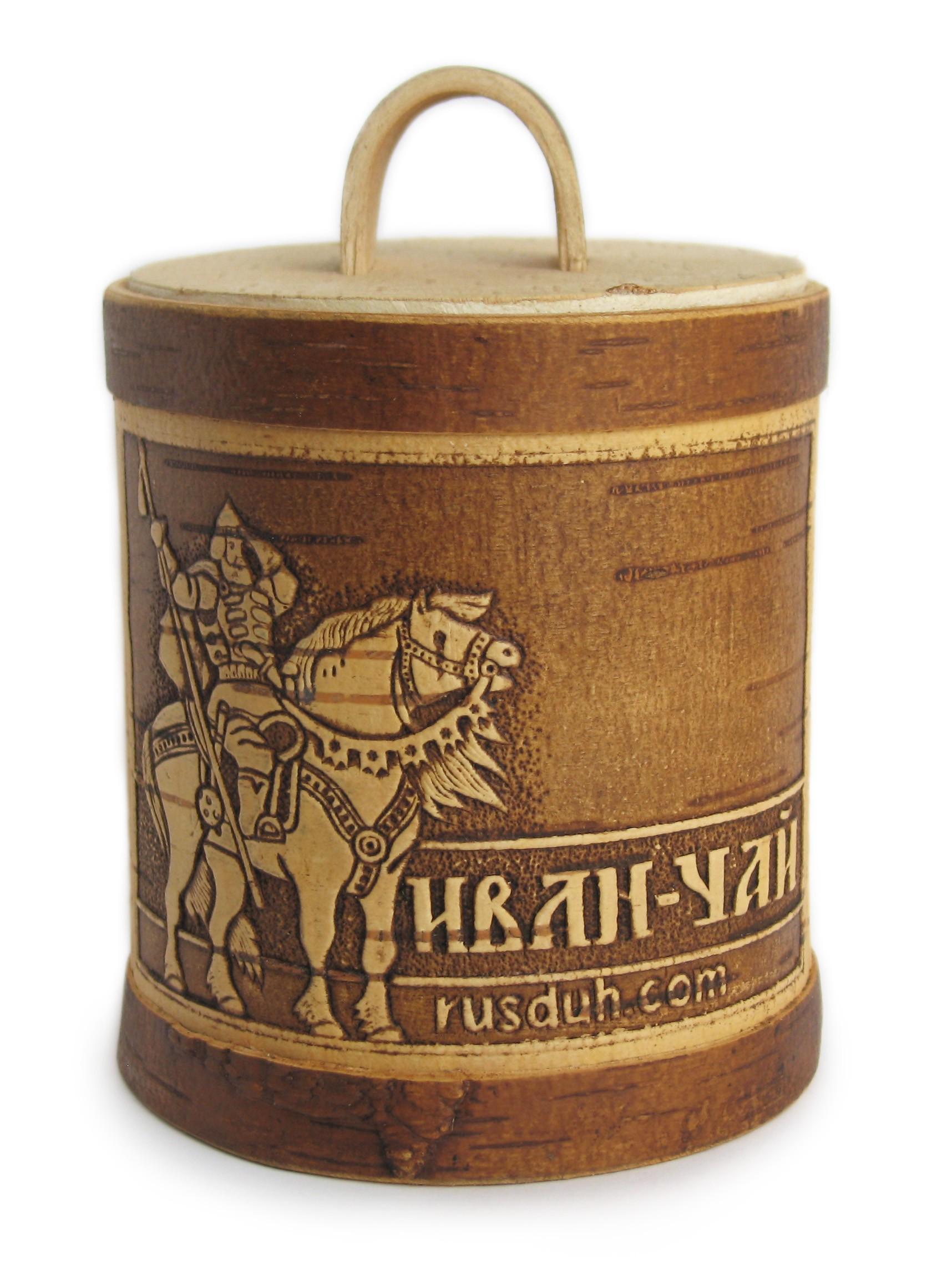 Туесок с Ивае-чаем (без добавок) малый