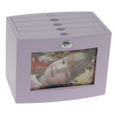 Фиолетовый архивный фотоальбом Наши родные на 96 фото