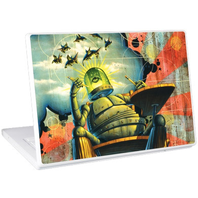 Обложка для 13 Laptop Skins Robo