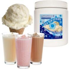 Смесь для молочных коктейлей Dry Ice Cream пломбир