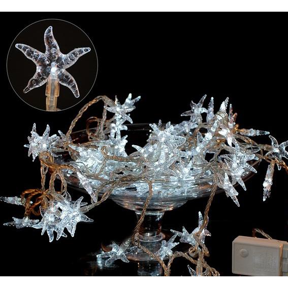 Электрогирлянда «Морская звезда» белая