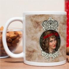 Фотокружка Королевна!