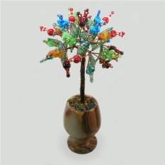Дерево из камней-самоцветов Праздник души