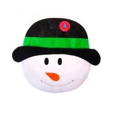 Чехол на крышку унитаза «Снеговик»