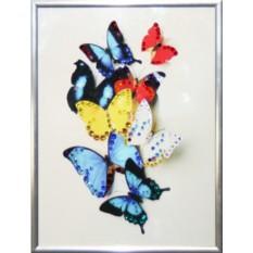 Картина с кристаллами Swarovski Бабочки