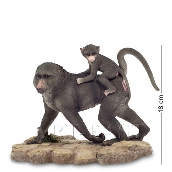 Статуэтка Бабуин с детенышем