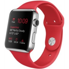 Apple Watch 42mm with Sport Band (цвет Red)