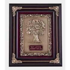 Настенная ключница Древо изобилия (цвет - венге)