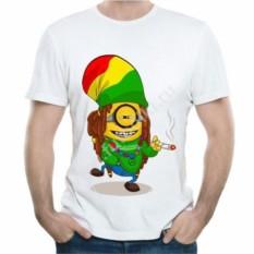 Мужская футболка Миньон растаман
