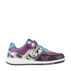 Серо-сиреневые кроссовки для девочки Monster High