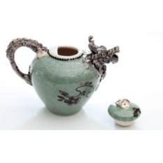Декоративный чайник Дракон