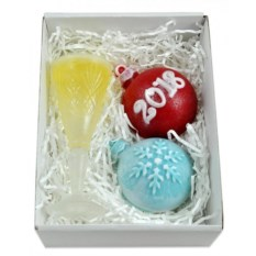 Набор мыла Новогодние игрушки
