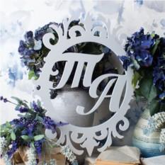 Монограмма на свадьбу №1