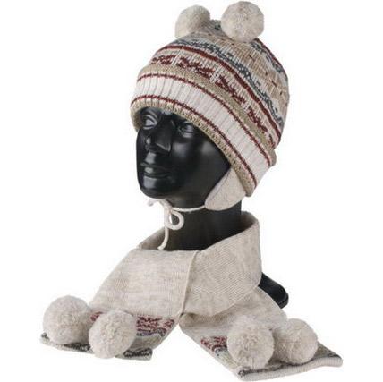 Шапка и шарф «Тундра»