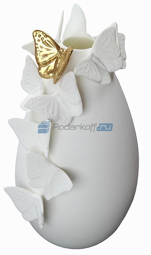 Ваза Золотая бабочка